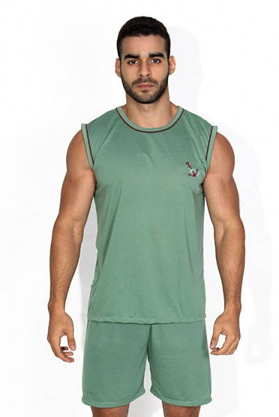 Pijama Masculino Camiseta 072