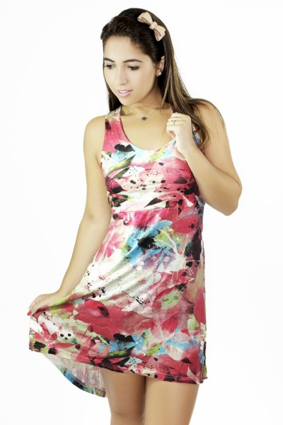 Vestido Estampado Lara