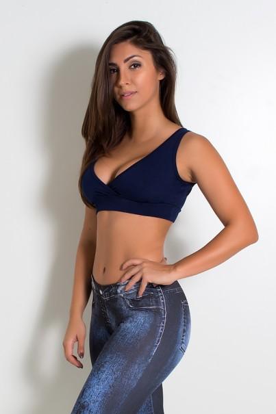 Top Suplex Tatiana (Azul Marinho) | Ref: KS-F658-003