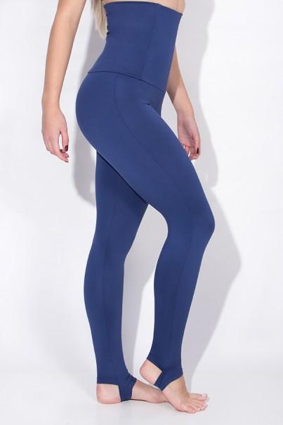Calça Mirella Modeladora com Pezinho (Azul Marinho)   Ref: KS-F215-003