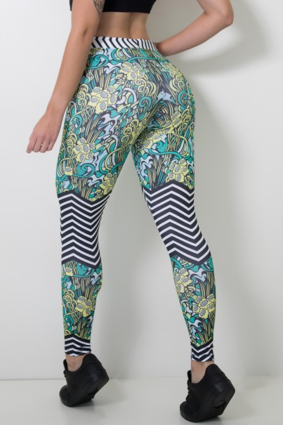 CA404-041-000_Calca_Feminina_Legging_Sublimada_Shrubs_Style__Ref:_CAL404-041