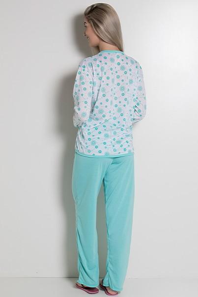 CEZ-PA075-003_Pijama_Longo_075_Verde_Piscina_CEZ-PA075-003