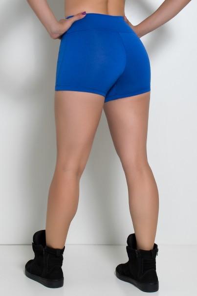 F880-002_Shortinho_Liso_Cos_Medio_Azul_Royal__Ref:_F880-002