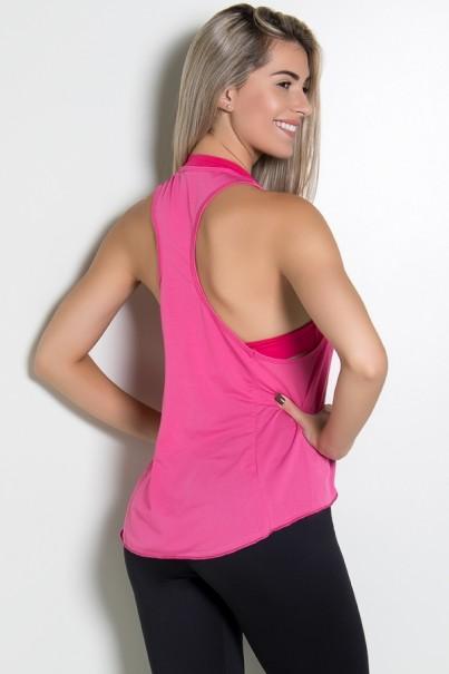 KS-F273-002_Camiseta_Dry_Fit_com_Bolso_Marissol_Rosa_Pink__Ref:_KS-F273-002
