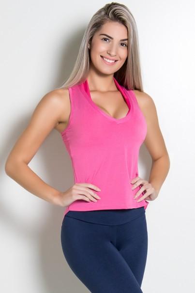 KS-F467-004_Camiseta_Dry_Fit_Lisa_Rosa_Pink__Ref:_KS-F467-004