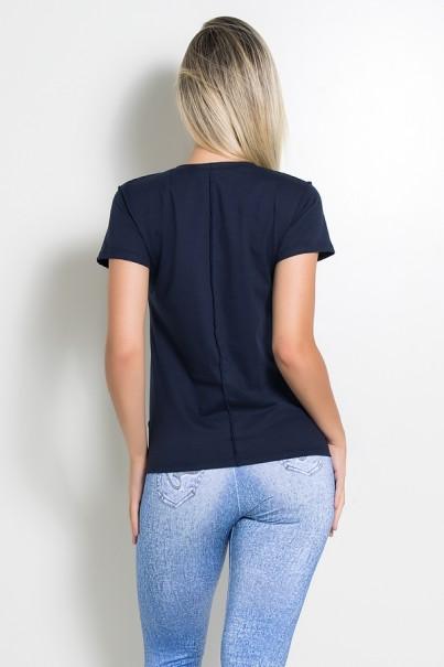 KS-F1034-006_Camiseta_de_Malha_com_Ponto_de_Cobertura_Azul_Marinho__Ref:_KS-F1034-006