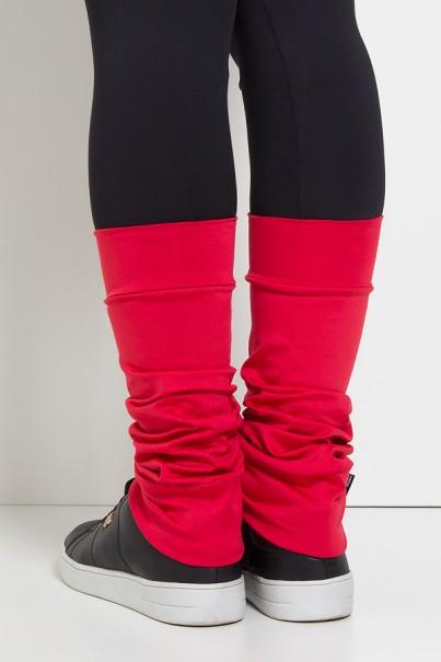 Polaina Fitness Lisa (O Par) (Vermelho)   Ref: KS-F182-009
