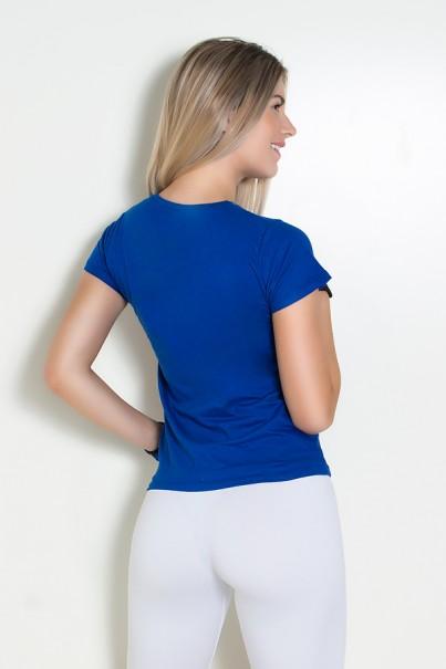 Camiseta Feminina Contém Whey Protein | Ref: KS-F224
