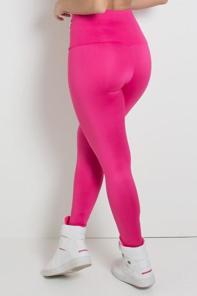 Calça com Bolso e Zíper Adele (Rosa Pink) | Ref: KS-F335-004