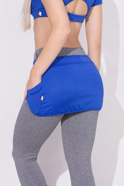 Tapa Bumbum com Bolso Suplex Excelente! (Azul Royal) | Ref: KS-F37-002