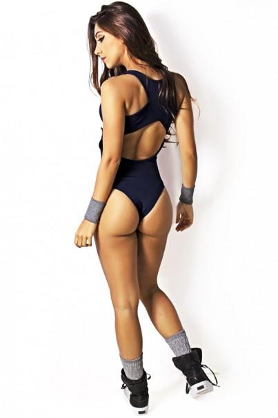 Body Viviane Liso (Azul Marinho)   Ref: KS-F427-001