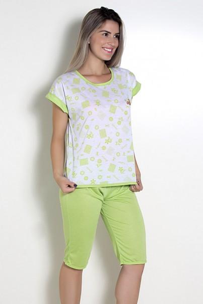 Pijama Pescador 032 (Verde)
