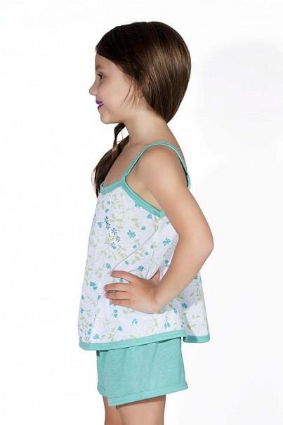 Babydoll Infantil 086 (verde piscina)