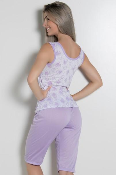 Pijama Pescador 243 (Lilás)