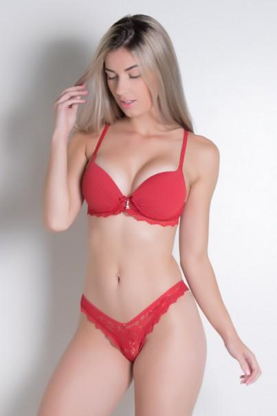 Conjunto Madona 500 (Vermelho) | Ref: CEZ-CJ01-004