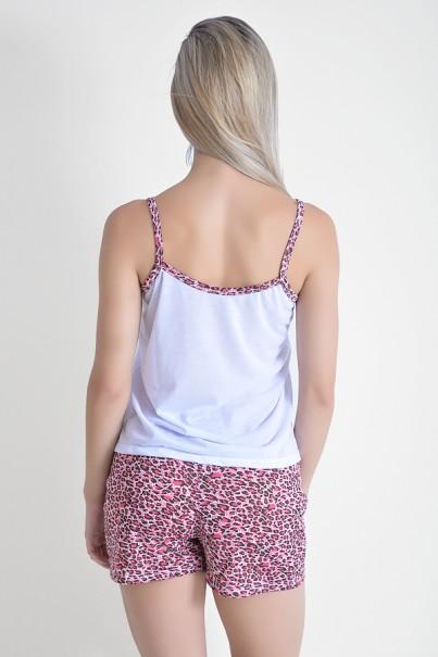 Babydoll Feminino 180 (Pink coroa)