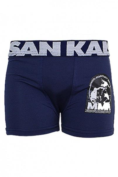 Kit com 4 Cuecas Boxer Silkada Infantil (498) - AC