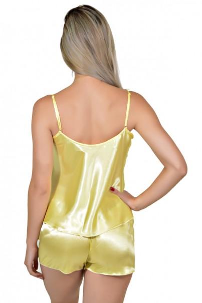 Babydoll Feminino 003 (Amarelo)