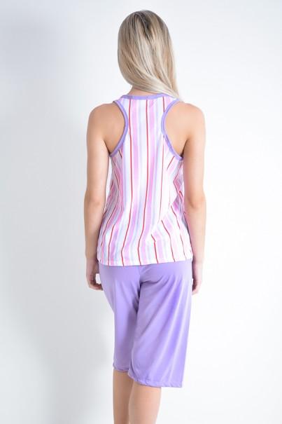 Pijama Pescador 239 (Listrado rosa)