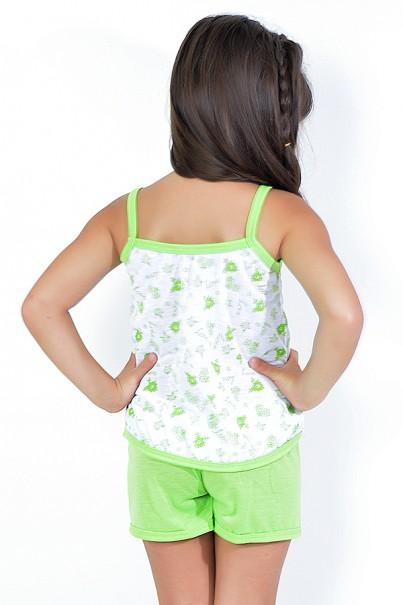 Babydoll Infantil 086 (verde limão) - AB