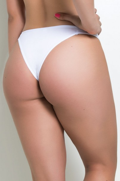 Tanga Gata Silvia (Branco) | Ref: KS-A67-001