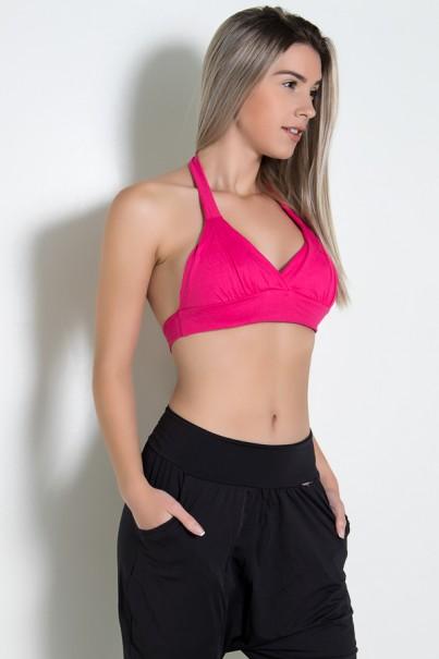Top de Malha Isadora Rosa Pink | Ref: KS-F1005-005