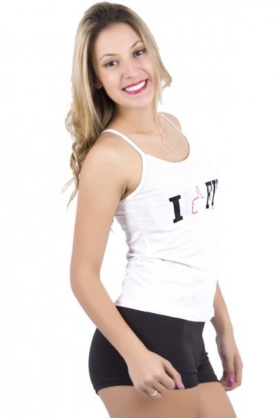 Camiseta I Like Fitness Kaisan