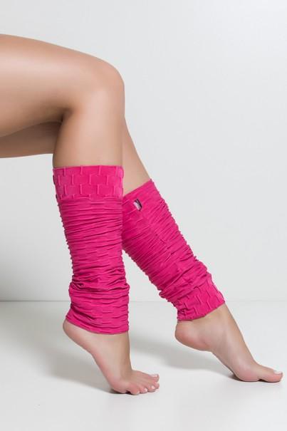 Polaina Tecido Bolha (Rosa Pink)   Ref: KS-F282-004