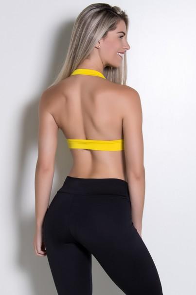 Top Isadora Liso (Amarelo) | Ref: KS-F260-007