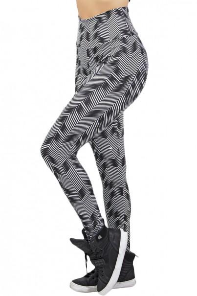 Legging Estampada (Setas Brancas com Preto) | Ref: KS-F27-121