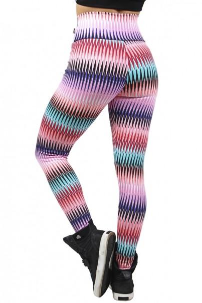 Legging Estampada Setas Coloridas 3 | Ref: CA478
