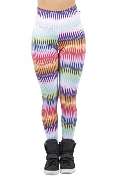 Legging Estampada Setas Coloridas | Ref: CA470