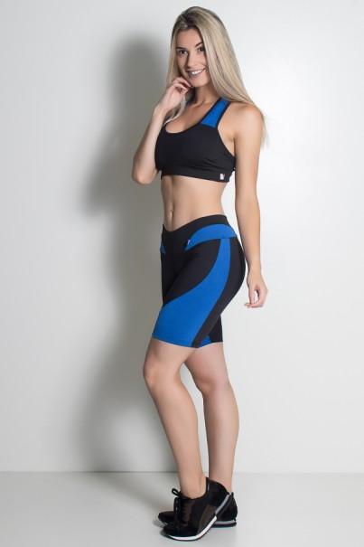 Conjunto Naomi (Preto / Azul Royal) | KS-F365-003