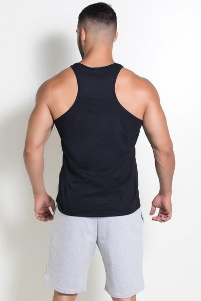 Camiseta Regata (Não Existe Glória Sem Sacrifício) (Preto) | Ref: KS-F519-002