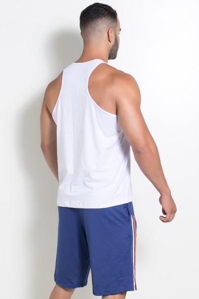 Camiseta Regata (Que Toda Inveja Vire Massa Muscular) (Branco) | Ref: KS-F520-001