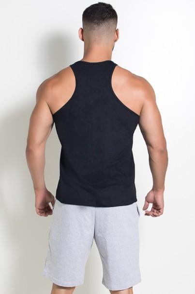 Camiseta Regata (Me Myself And Iron) (Preto) | Ref: KS-F523-002