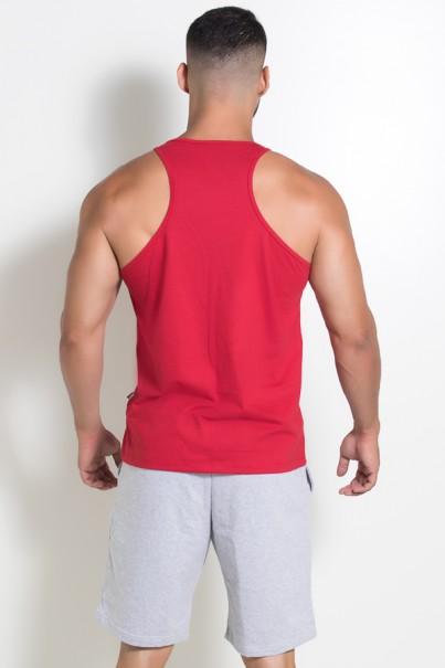 Camiseta Regata (Me Myself And Iron) (Vermelho) | Ref: KS-F523-003