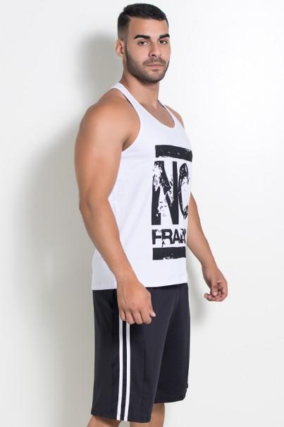 Camiseta Regata (No Frango) (Branco) | Ref: KS-F525-001