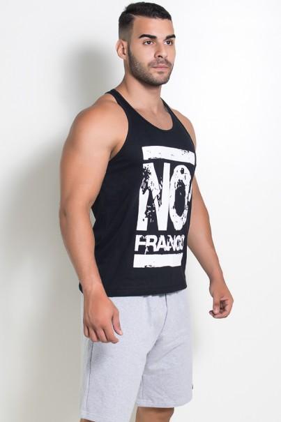 Camiseta Regata (No Frango) (Preto) | Ref: KS-F525-002