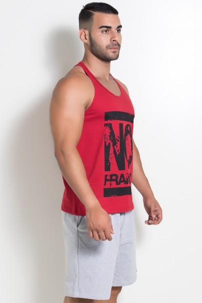 Camiseta Regata (No Frango) (Vermelho)   Ref: KS-F525-003