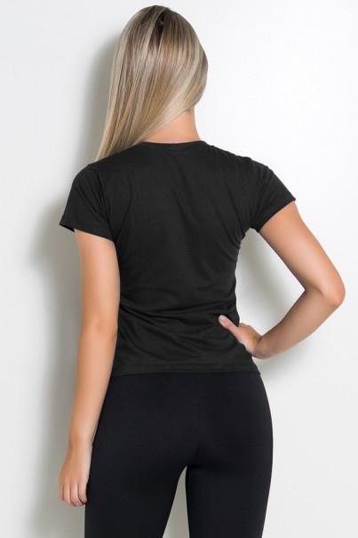 Camiseta Feminina Love Fitness (Preto) | Ref: BES003-001