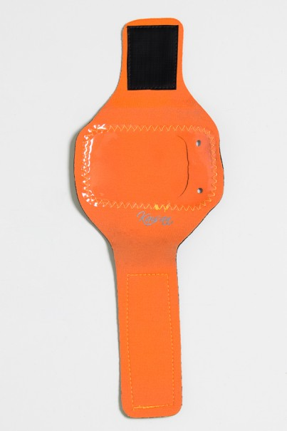 Braçadeira Unissex de Celular para Academia (Laranja)   Ref: KS-F89-002