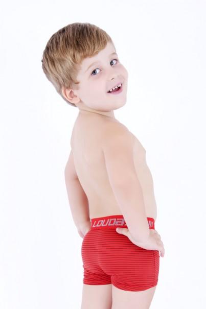 Cueca Boxer Infantil Risca Giz