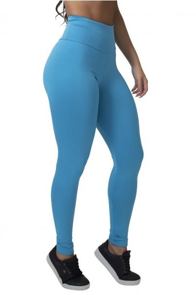 Calça Legging (Im Wholesome) (Azul Celeste)   Ref: F710-004