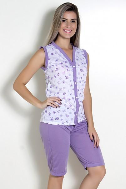 Pijama Pescador 098 (Lilás)