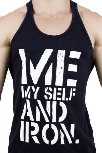 Camiseta Regata (Me My Self And Iron) | Ref: KS-F523