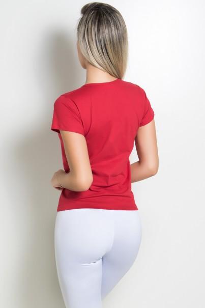 Camiseta Feminina I Work Out | KS-F238