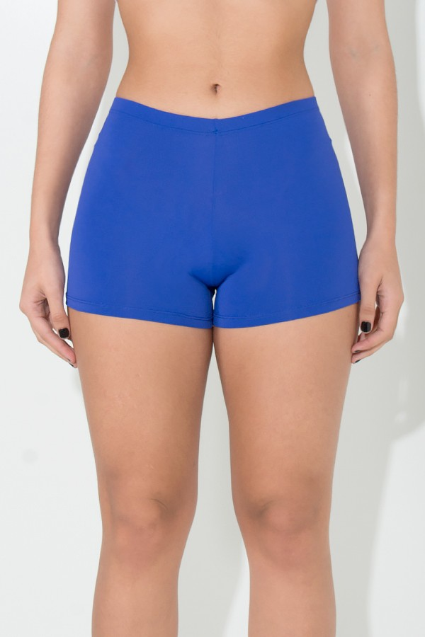 21fd9f32df Mini Short Liso (Azul Royal)