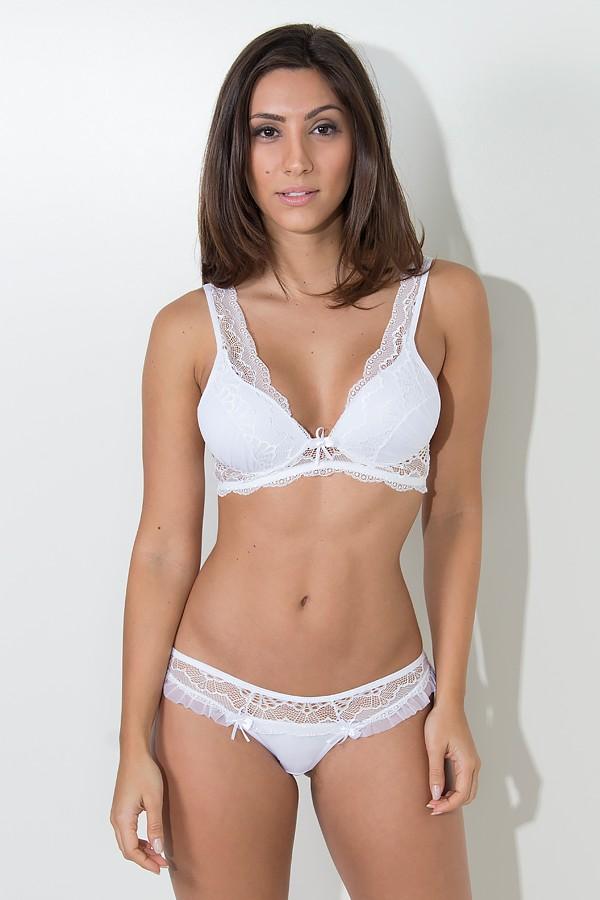598b9454954b1 Conjunto de lingerie Mariana 2363 (Branco)
