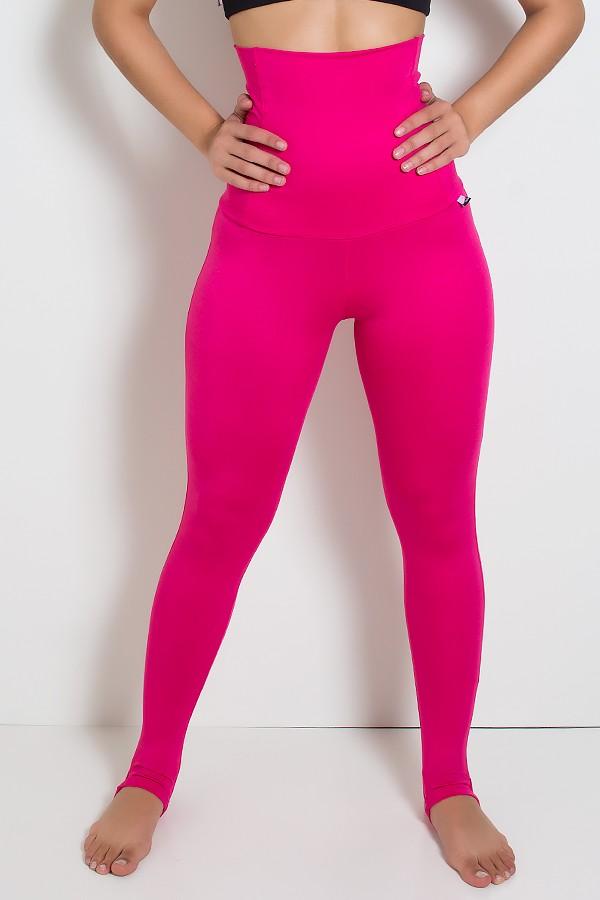 d797ca9e4 Calça Mirella Modeladora com Pezinho (Rosa Pink)
